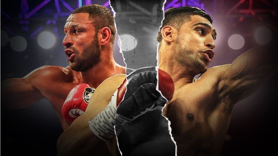 Amir Khan and kell brook fight will it happen no smoke boxing news